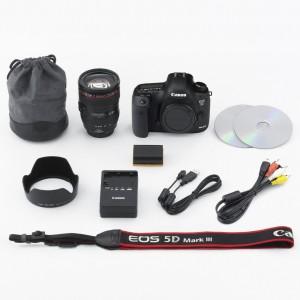 Canon EOS 5D Mark III 22.3 MP Digital SLR Camera EF 24-105mm