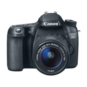 Canon EOS 70D 20.2 MP Digital SLR Camera 18-55mm