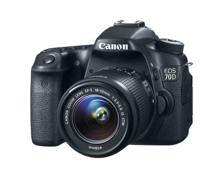 Canon EOS 70D 202 MP Digital SLR Camera 18 55mm