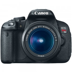 Canon EOS Rebel T4i 18.0 MP CMOS Digital SLR Camera 18-55mm
