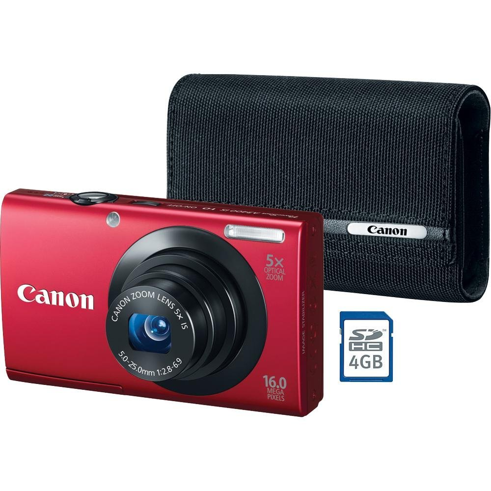 The Best Shopping For You | Canon PowerShot A3400 IS 16.0 ...
