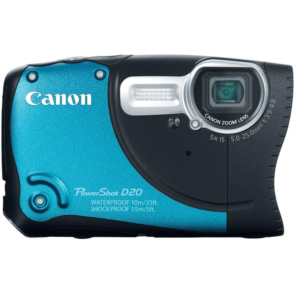 Canon PowerShot D20 12.1 MP Digital Camera