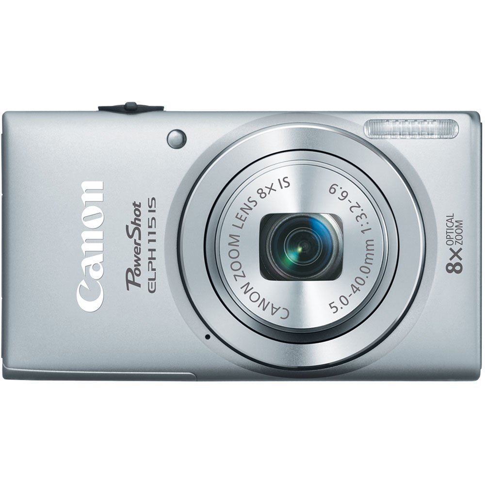 Canon PowerShot ELPH 115 16MP Digital Camera