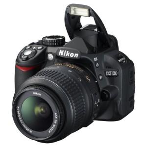 Nikon D3100 14.2MP Digital SLR Camera with 18-55mm