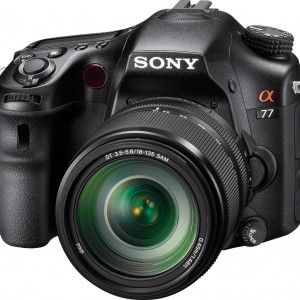 Sony A77VM 24.3 MP Translucent Mirror Digital SLR