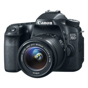 Canon EOS 70D 20.2 MP Digital SLR Camera 18-55mm