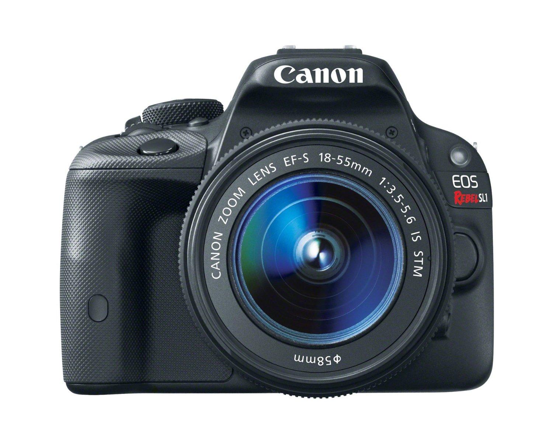 Canon EOS Rebel SL1 18 MP CMOS Digital SLR Camera 18-55mm
