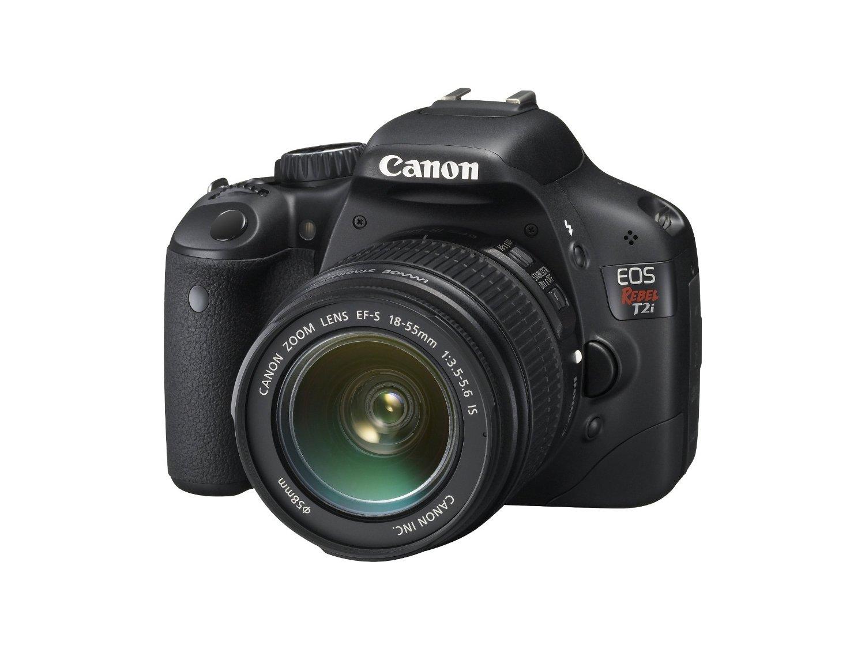Canon EOS Rebel T2i 18 MP Digital SLR Camera 18-55mm