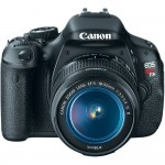 Canon EOS Rebel T3i 18 MP CMOS DSLR Camera EF-S 18-55mm