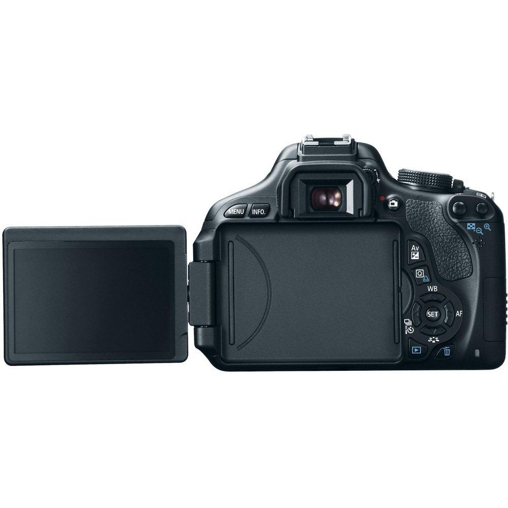Canon EOS Rebel T3i 18 MP CMOS DSLR Camera EF-S 18-55mm