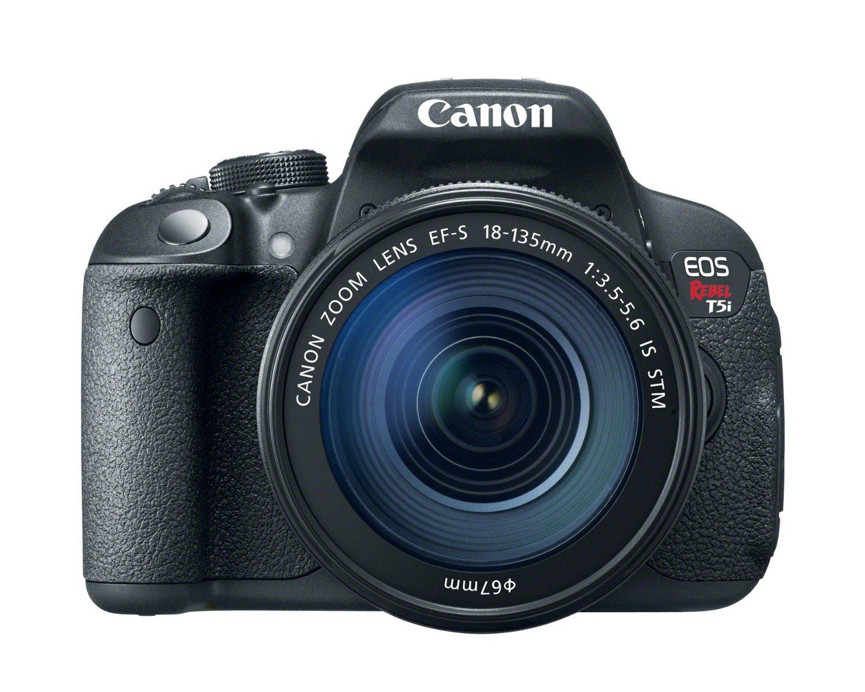 Canon EOS Rebel T5i 18.0 MP CMOS Digital SLR Camera 18-135mm