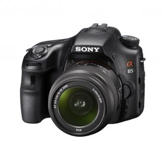Sony A65 24.3 MP Translucent Mirror Digital SLR With 18-55mm lens